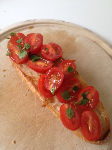 Tomato Bruschetta by Bombay Foodie