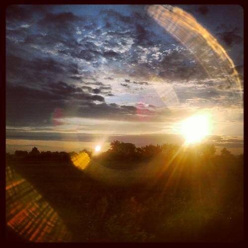 sky sunrise germany landscape deutschland saxony himmel sachsen landschaft sonnenaufgang badlausick instagram samsunggalaxynexus