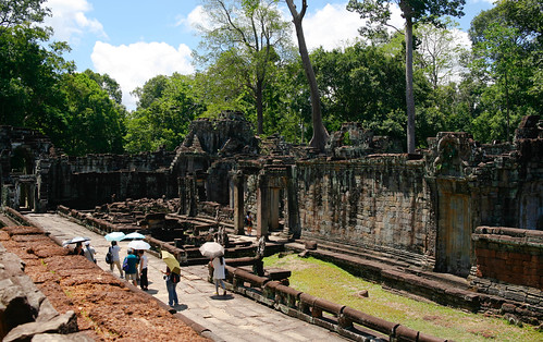 Preah Khan courtyard