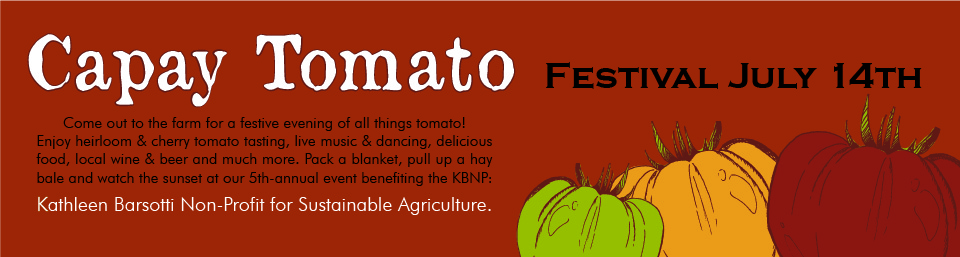 Capay Tomato Info - Coming Soon!