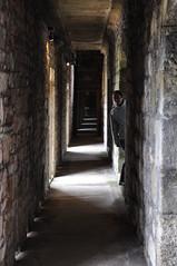 Corridors at Caernarfon castle
