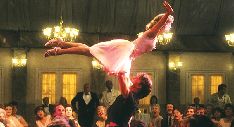 Patrick Swayze & Jennifer Grey 'Dirty Dancing' 1989