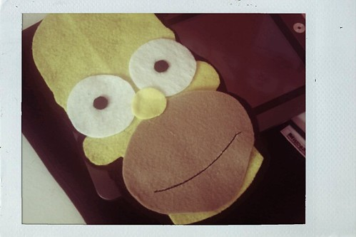 Case Tablet Homer Simpsons by miudezas_miudezas