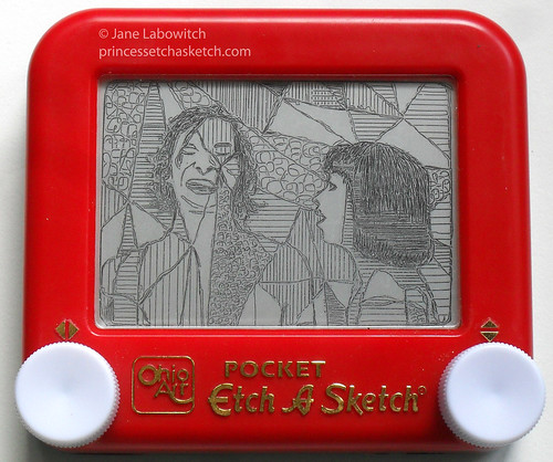 Somebody that I used to etch