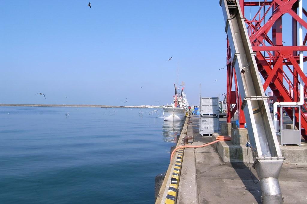 Ishinomaki Fishing Port(石巻漁港)/宮城県石巻市魚町2-14 May 31, 2012