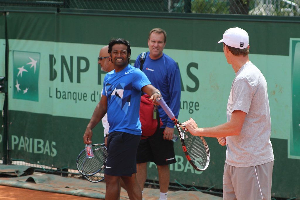 Leander Paes and Sam Querrey