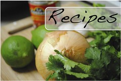 new recipes button