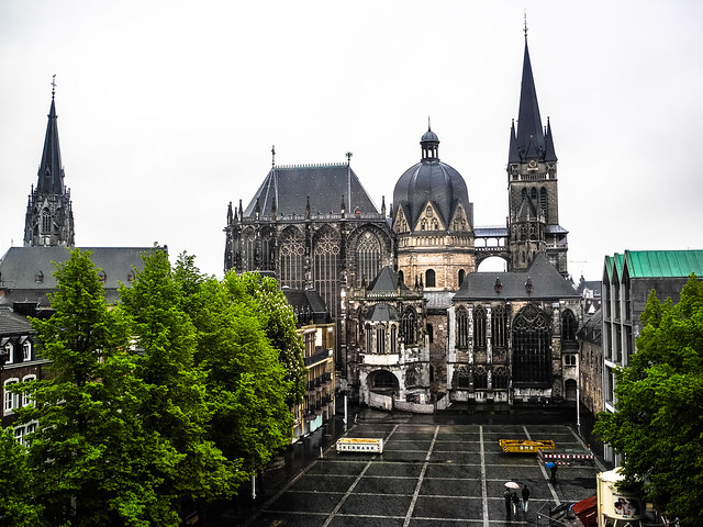 aachen cathedral aachener dom aachen germany flickr. Black Bedroom Furniture Sets. Home Design Ideas