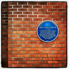 Photo of William Lench blue plaque