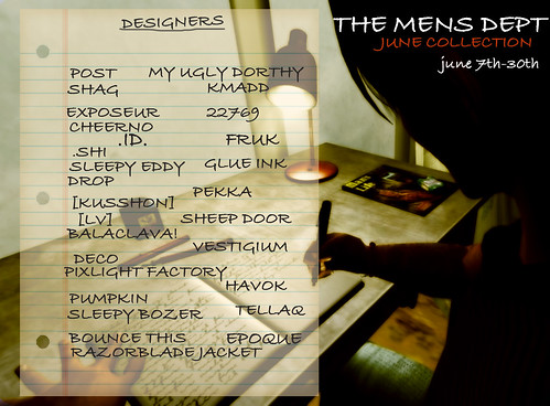 The Mens Department ║ JUNE Collection