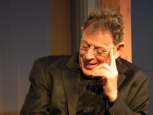 Philip Glass. Contemporary Opera's Big Bang discussion at AGO. Luminato 2012 (Toronto)