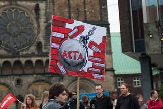 Demo gegen ACTA, 09.06.2012