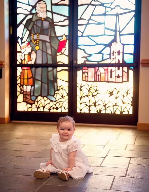 Clara's baptism