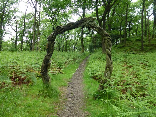 Grizedale forest - Silurian way art 2