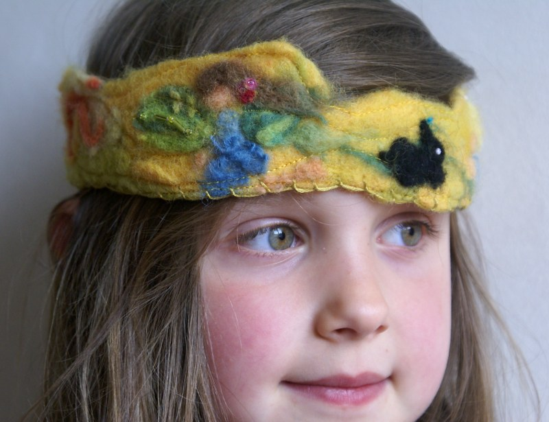 pplant dyed organic birthday crown