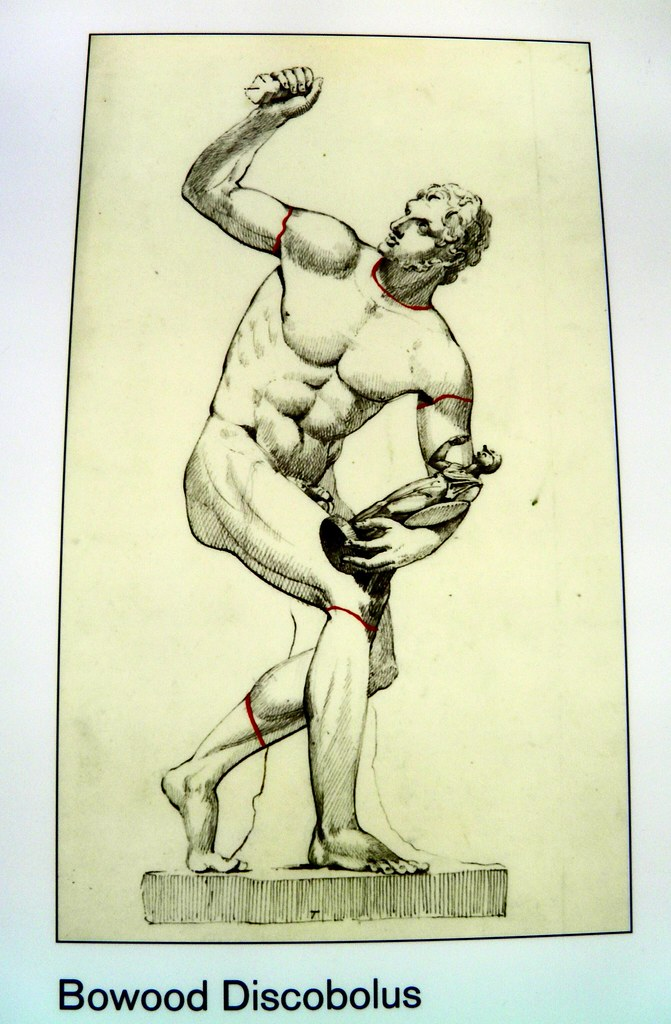 Bowood Discobolus, Winning at the ancient Games, British Museum