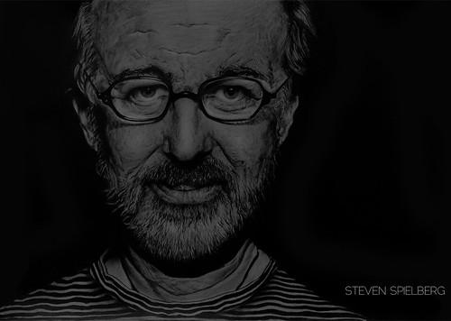 Steven Spielberg by John Kamberai