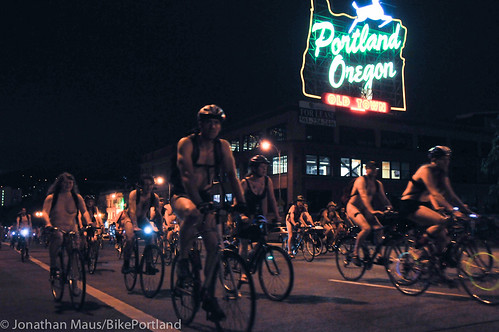 2012 World Naked Bike Ride - Portland-25