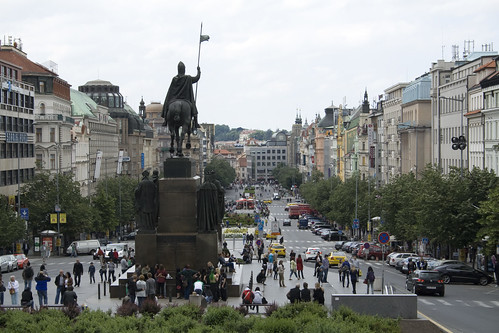 Wenceslas Square by Scott Spaulding