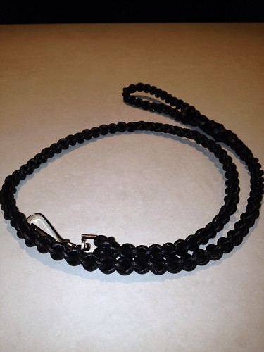 Paracord lanyards I make for my work by Allknotted
