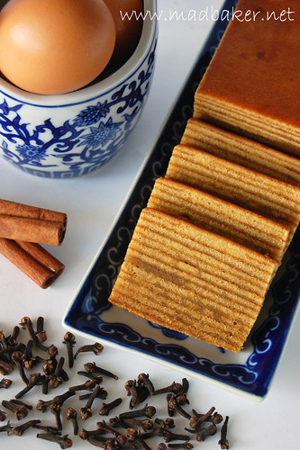 Kueh Lapis Sliced