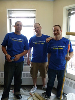 Morgan Stanley Painting Team