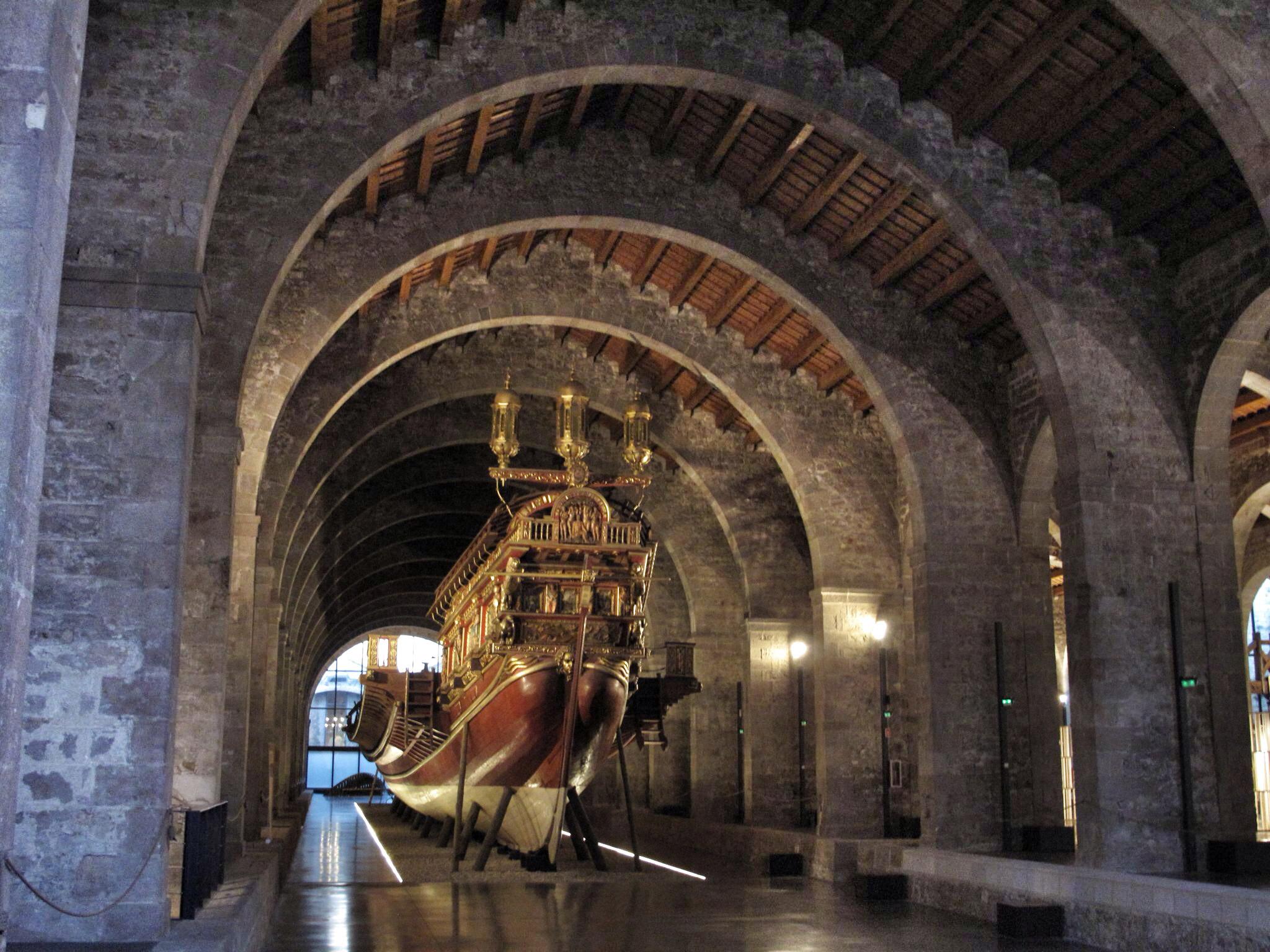 reales atarazanas barcelona_reharq_museo maritimo_patrimonio