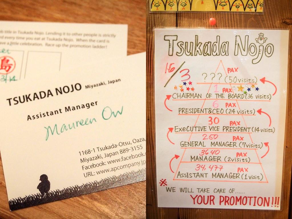 Tsukada Nojo: Promotion
