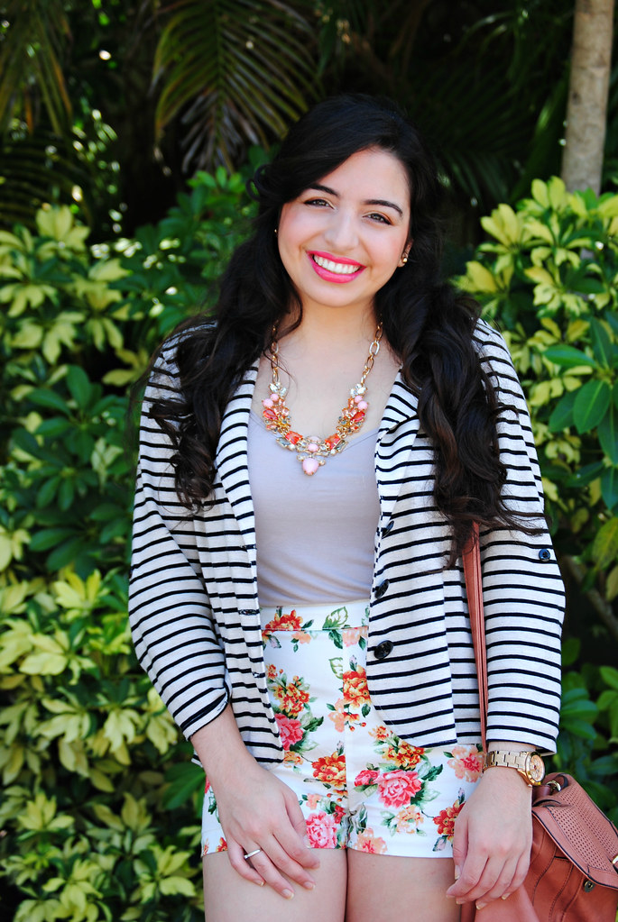 spring stripes and florals