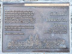 Photo of Charles Dickens bronze plaque