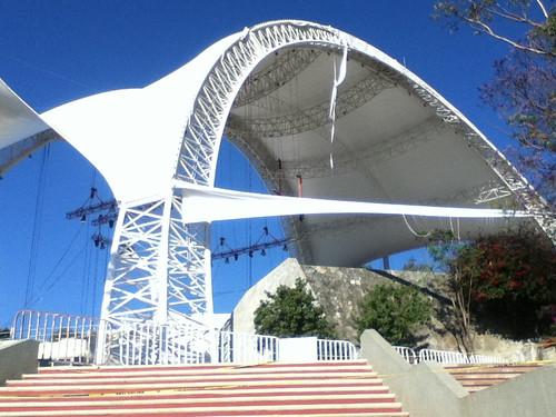 Uncovering the Auditorio Guelaguetza in Oaxaca, Mexico 03.2012