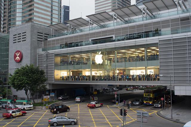 HK ifc Apple Store