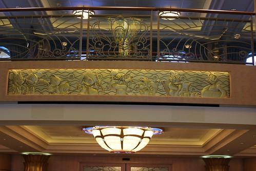 Disney Fantasy Atrium character details