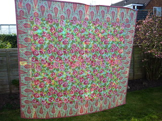 Rear of finished FMB2 quilt