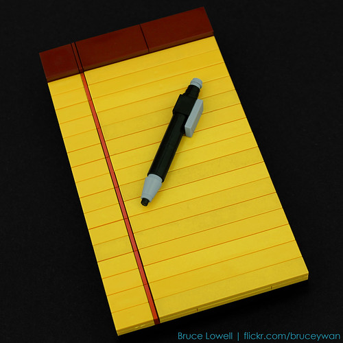LEGO Legal Pad