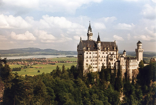 (3) il castello di Neuschwanstein (Germania)  .2004