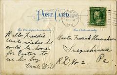 Easter 1911 back