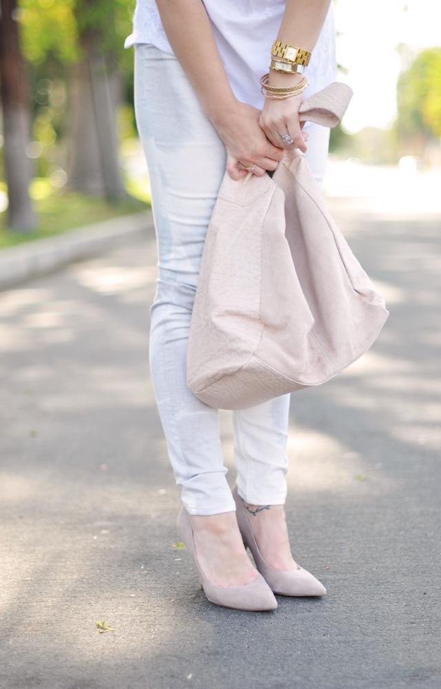hudson jeans  -topshop bag  -steve madden shoes