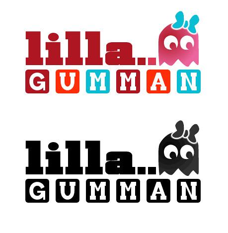 Var tvungen att slänga ihop förslag till logotyp för Lilla Gumman
