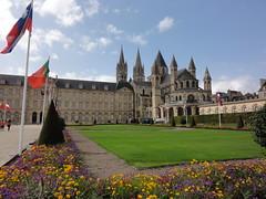 Hotel De Ville and Abbaye Aux Hommes