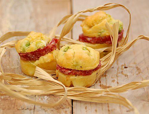 fuvvins- muffins fave e pecorino