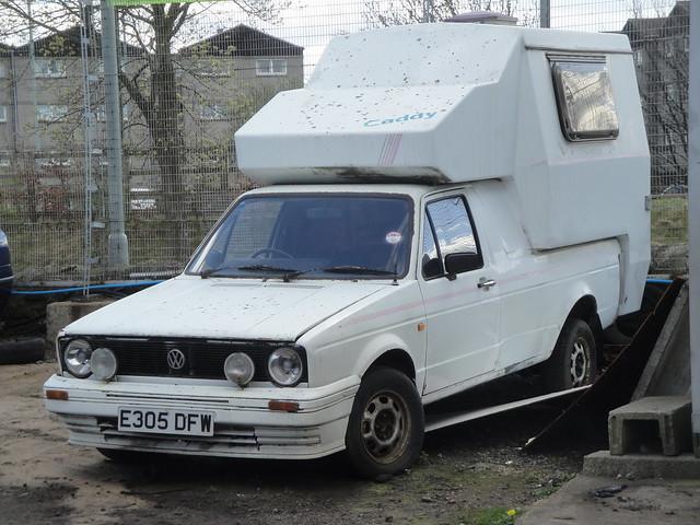 1987 volkswagen caddy camper flickr photo sharing. Black Bedroom Furniture Sets. Home Design Ideas