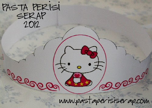 hello kitty parti süsü