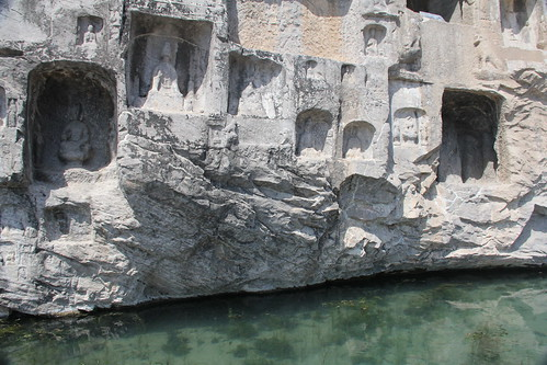Ana Paula Hirama's photo of the Longmen Grottoes.