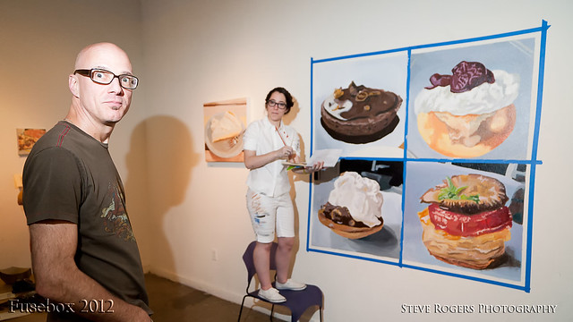 A free taste of betrayal and sugar, of paint and pastry, hosted by Salvage ...