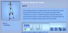 Ricardo Richards' Easel