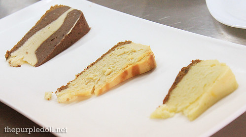 Cheesecake Samplers by Chef Kevin Mize