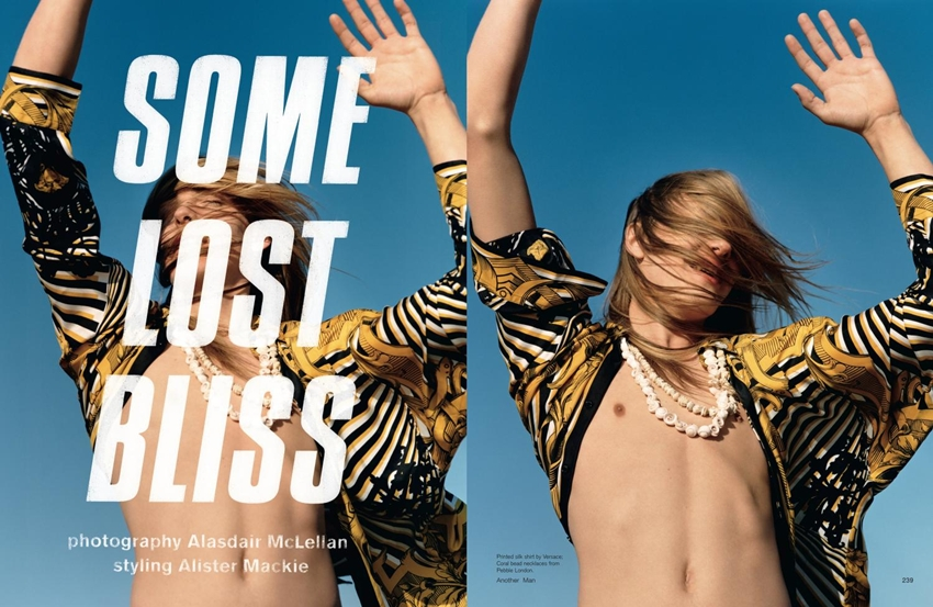 Some Lost Bliss - AnOther Man, S/S 12 - Erik Andersson by Alasdair McLellan and styling by Alister Mackie