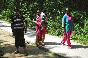 Family at Ranchi Zoo