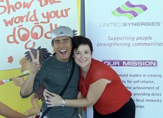 DoodleJam Fundraiser - United Synergies and World Vision - Doodle on the Sunshine Coast